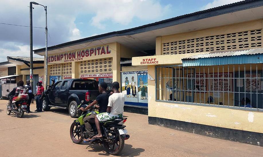 Redemption Hospital i Monrovia ble som en inkubator for ebolasmitten i storbyen.