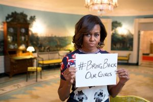 #bringbackourgirls Michelle Obama